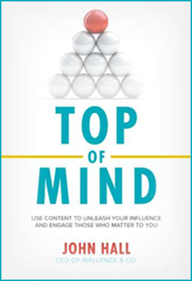 John Hall, Author of Top of Mind